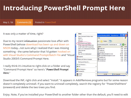 PowerPromptHere