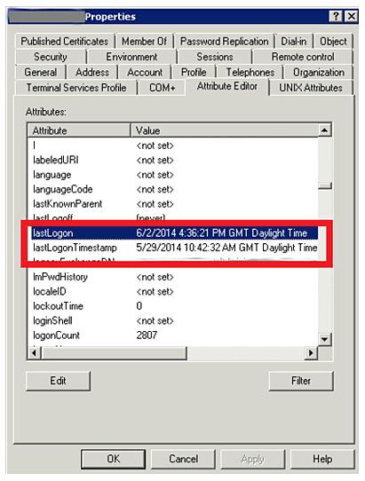 Active Directory Logon Audit - Figure 1