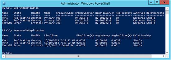 PowerShell Hyper-V Replica - Screenshot 1