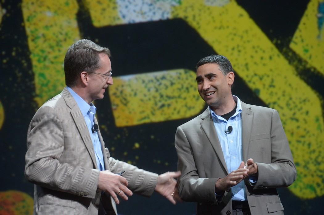 Martin Casado and VMware CEO Pat Gelsinger Launch NSX at VMworld, August 2013