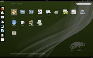 GNOME 3.x Interface