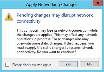 Virtual Network Switch Screenshot