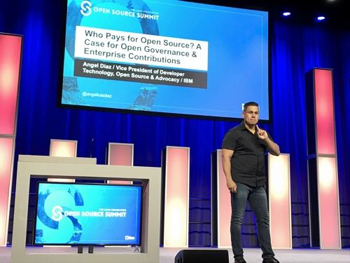 Angel Diaz IBM Open Source Summit 2018